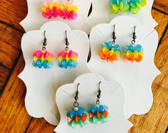 Cat Toy Earrings: Summer Collection