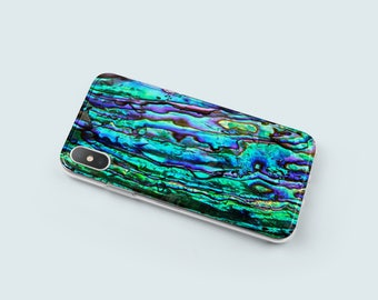 Abalone Shell iPhone 6 Plus Case - Soft iPhone 6S Case - iPhone X Case - iPhone 8 Case - Tech Gifts For Tech Lovers - Phone Cases - KT090