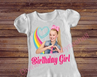 Jojo Siwa Birthday Shirt, Jojo Inspired Birthday Shirt, Birthday Shirt, Birthday Girl, 1st Birthday