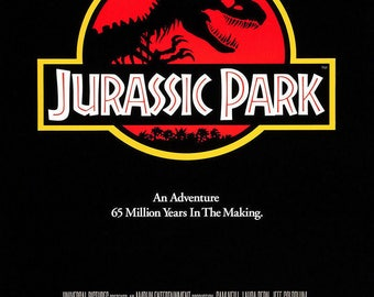 Jurassic Park Movie Poster A3 or A4 Matt