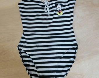 Vtg Mickey Inc. Bodysuit - 7/8