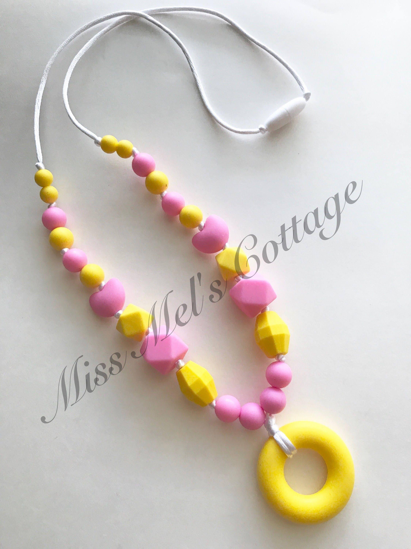 Teething SensoryNecklace MissMelsCottage