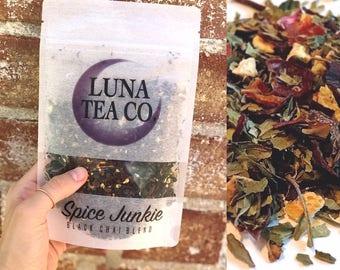 "Zip Pouch Tea // ""Magenta!"" // Herbal Tea Blend // Organic Tea // Caffeine Free Tea // Loose Leaf Tea // Hibiscus Tea"