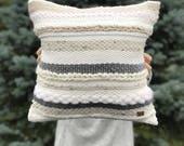 Handwoven pillow / Stripe...