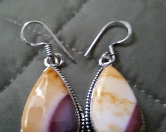 Imperial Jasper Earrings !