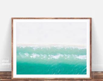 Beach Photography, Beach Decor, Modern Beach Art, Digital Print, Modern Coastal, Ocean Print, Ocean Decor, Beach Photo, Landscape Print