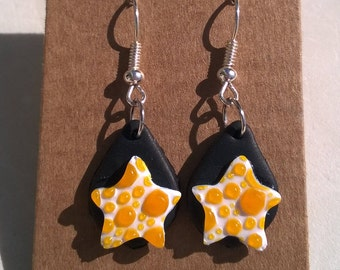 Earrings - stars and bubbles