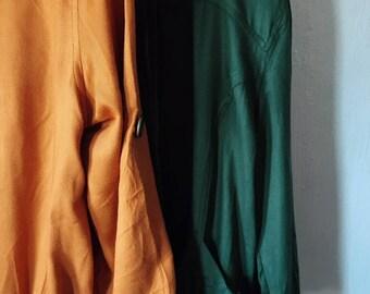"Lightweight Moto Jacket in ""dew"" (green)"