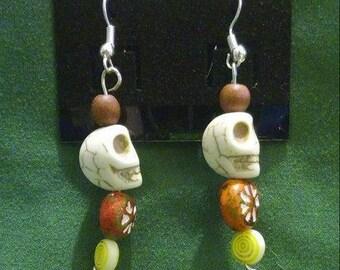 Skullfully Alive Earrings