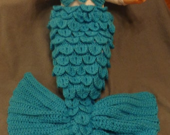 Mermaid Tail Baby cocoon set