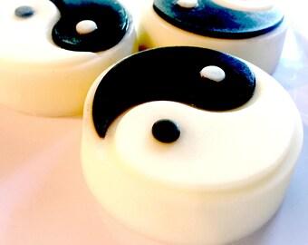 Taijitu Yin Yang Sculpted Goat Milk Soap