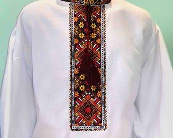 Vyshyvanka for men / Ukrainian shirt /  shirt men / Made in Ukraine / Vyshivanka / Vishivanka / mens gift / ukranian