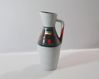 Nice Scheurich 274-21 vase, West German Pottery, WGP