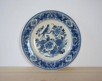 Delft Blue Zenith hanging plate