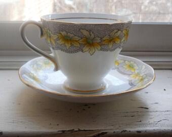 Salisbury teacup and saucer