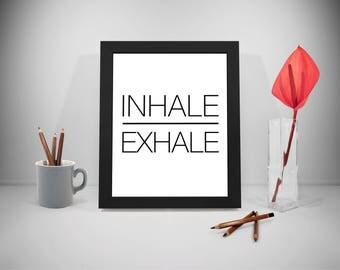 Inhale Exhale, Yoga, Yoga Quotes