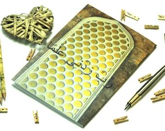 A5 notebook, Rabbi zidni ilma, back to school, studying stationery, teacher's gift, Umra gift, Hajj gift, graduation gift, gifts for him