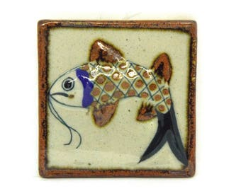 Koi Fish Tile Etsy