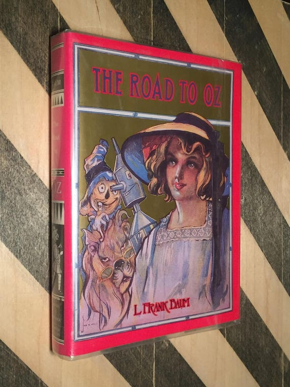 The Road to Oz by L. Frank Baum (hardcover book)