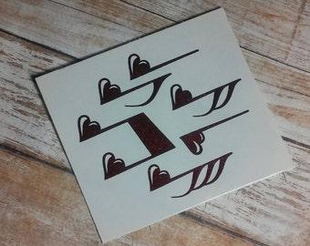 MusicTeacher Decal/Teacher Monogram/ Monogram/Decal/ Vinyl Decal/ Yeti Cup Decal/ Monogram Decal/HTV Decal/Band Teacher/Music/Arts