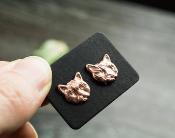 Cat Earrings, Cat Jewelry, Kitten Earrings, Kitty Cat, Kitty Earrings, Kitty Jewelry, Meow Earrings, Cute Earrings, Summer Earrings, Post