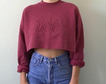 Vintage Cropped Pullover