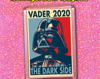"VADER 2020 Election Magnet - 2""x3"" Acrylic magnet - Star Wars - Darth Vader"