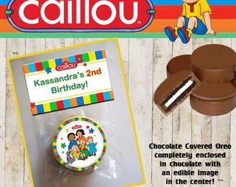 Caillou Chocolate Covered Oreo