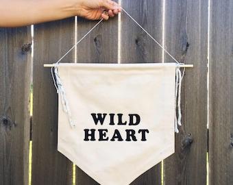 Wild Heart Banner