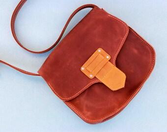 Leather crossbody bag, leather handbag, crossbody bag purse, small leather bag, women bag purse, leather shoulder bag, small bag purse