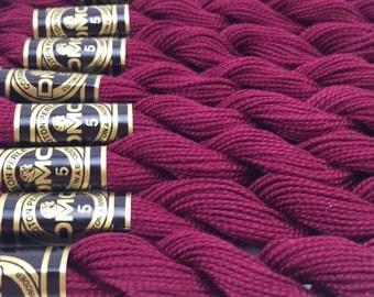 DMC Pearl Cotton Size 5 Thread