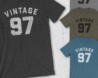 21st Birthday For Him & Her - 21st Birthday Gift - 21st Birthday Shirt - Vintage 97 Shirt Women and Men -for man - 1997 Shirts