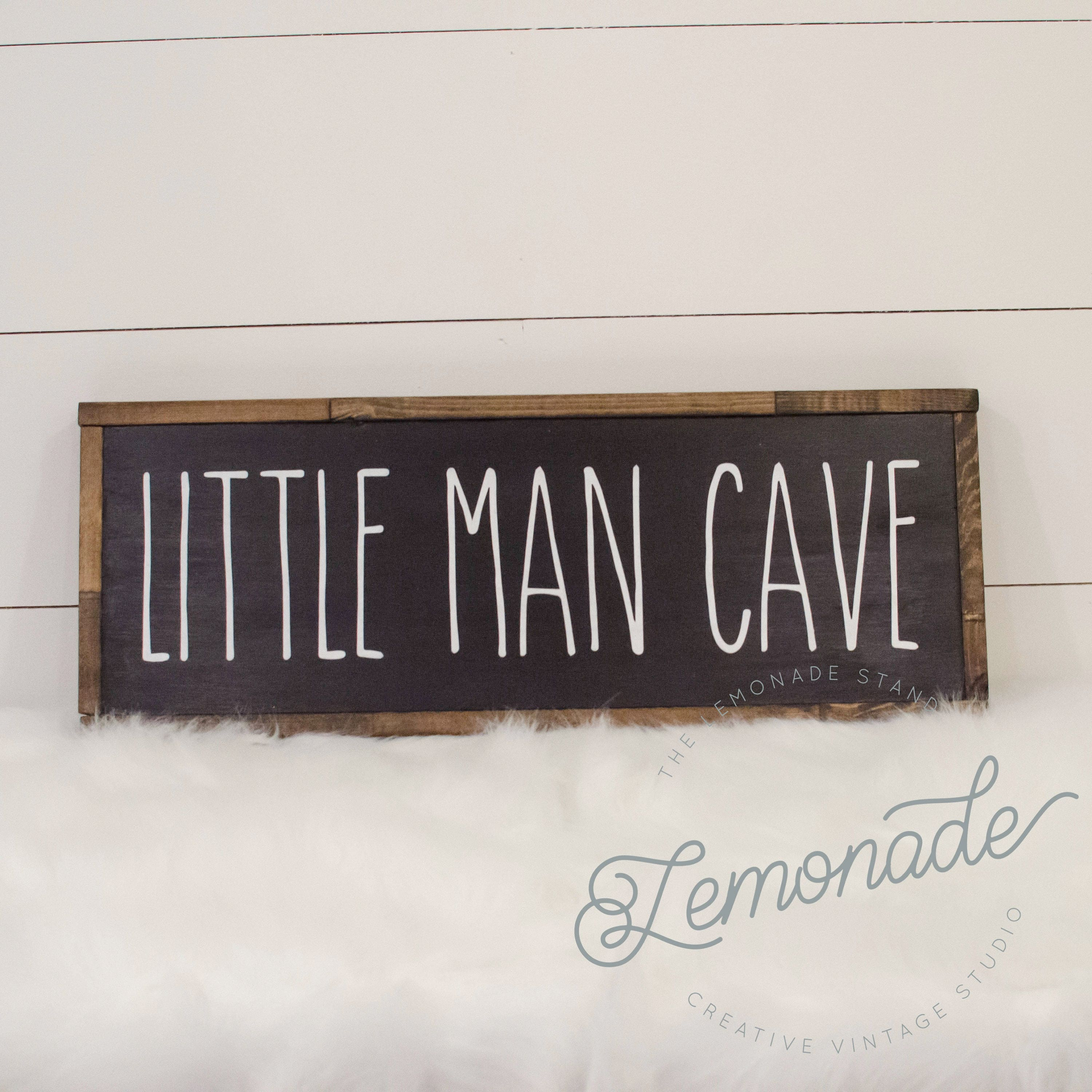 Custom Man Cave Signs Canada : Little man cave sign wooden farmhouse