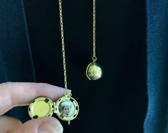 Ball Locket, Round Locket, Sphere Locket, Multiphoto Locket, Family Tree Locket, Modern Locket, Personalized Lockets, Geometric Lockets