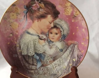 Bonds of Love Mother's Day Collector Plate