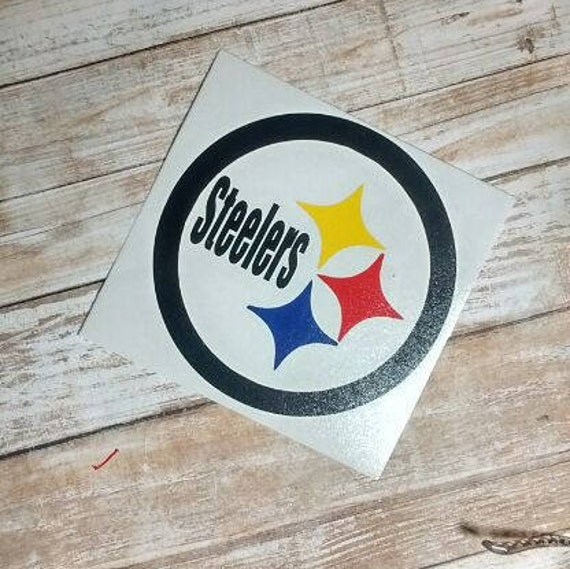 Steelers DecalPittsburgh Decal Football Decals Steelers - Custom vinyl decals pittsburgh