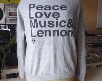 Sweat Peace Love & Lennon