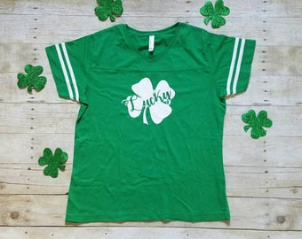 Women's St. Patrick's Day Shirts, Shamrock Shirt, Cute St. Patrick's Day Shirt
