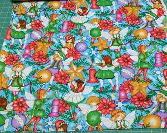 Winter Fairies Cotton Fabric