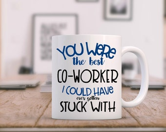 Retirement Mug, Goodbye Coworker, Coworker Leaving, Farewell Gift For Coworker, Going Away Gift For Coworker, Thank You Gifts For Coworkers