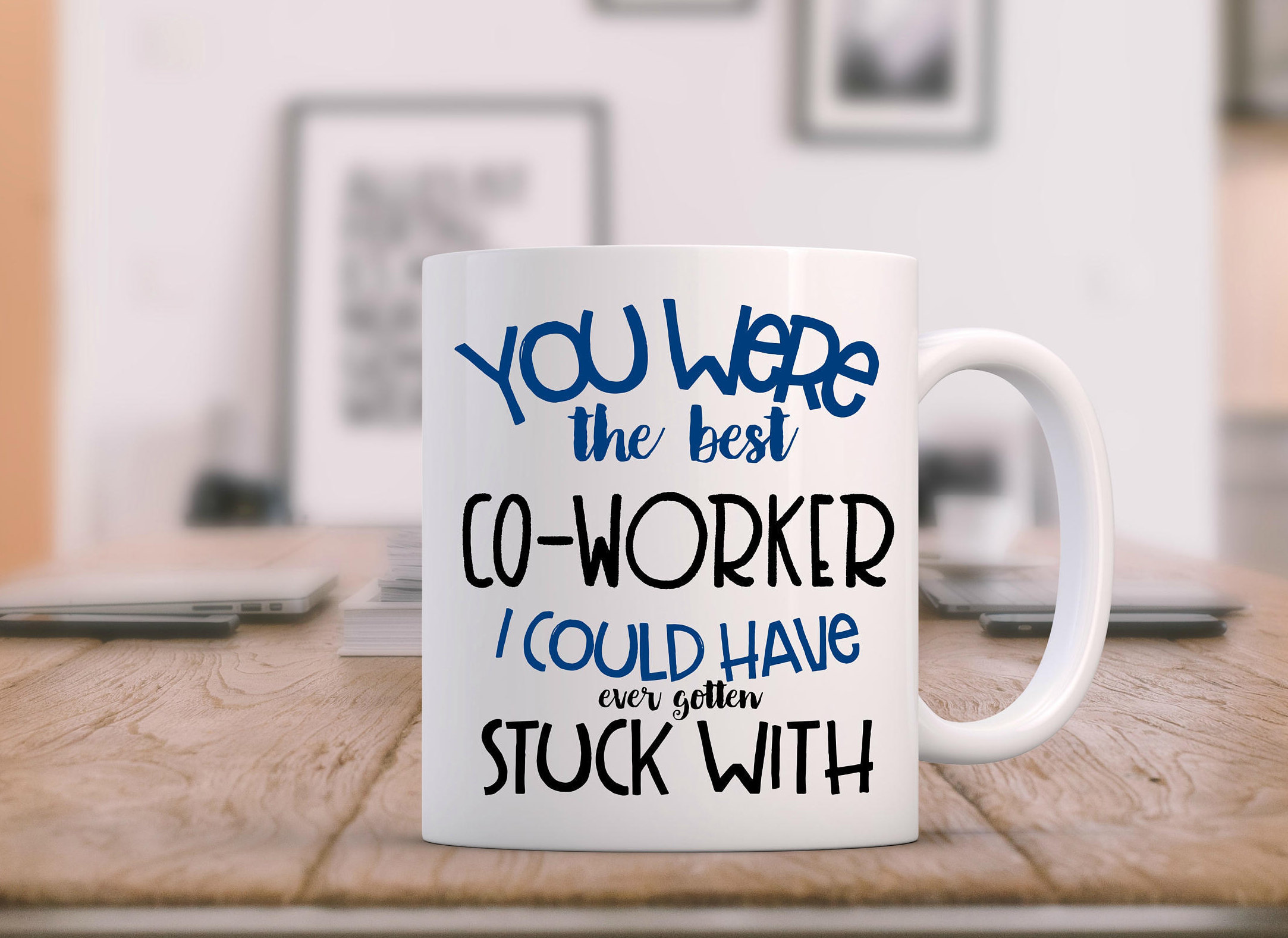 Retirement Mug Goodbye Coworker Coworker Leaving Farewell