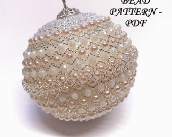 Christmas Ornaments - Bead Pattern by Yolladesign – PDF Instruction