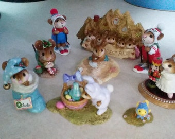 Wee Forest Folk collection
