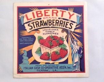 Vintage Postcard Fruit Vegetable Kitchen Epherma