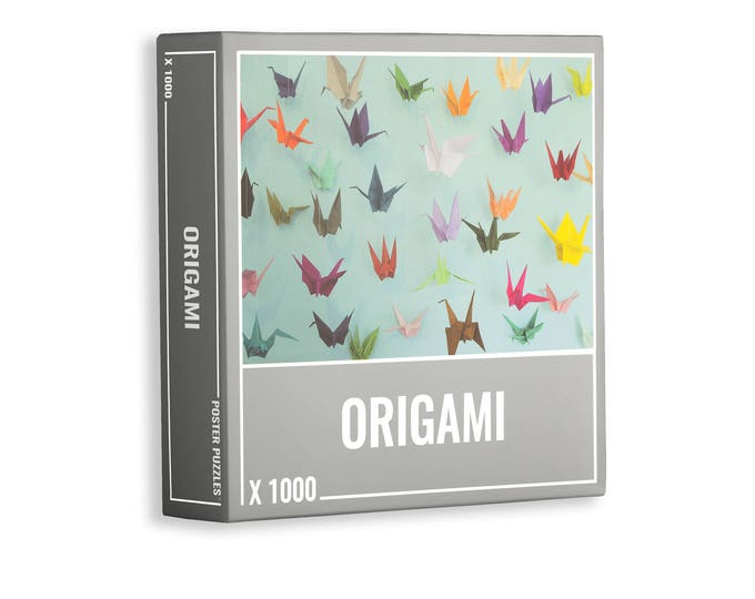 Origami – Cool, 1000-piece Jigsaw Puzzle for Grown Ups!