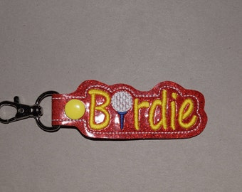 Birdie Golf Keychain