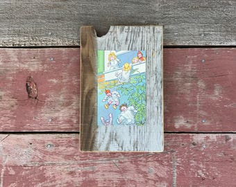 Raggedy Ann Stories | 1961 | Peace by Piece Reclaimed Wood Wall Art | Hanging Wall Art | Made to Order |