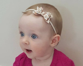 Bow || Headband bow || Hair accessories || Baby girl || Baby shower || Gift for baby girl || Photo prop || Fabric bow || Felt bow