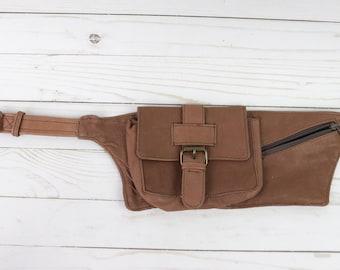 Fanny Pack / Vegan Leather Hip Bag / Utility Belt / Belt with Pockets / Burning Man / Festival / Belt Pouch / Purse Belt / Steampunk