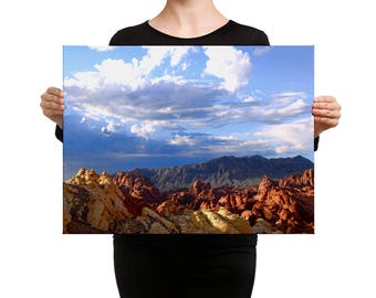 Incoming Storm - Valley of Fire Canvas